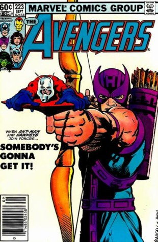 The Cover to Avengers Vol One Issue 223
