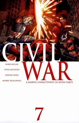 Issue Seven of Civil War