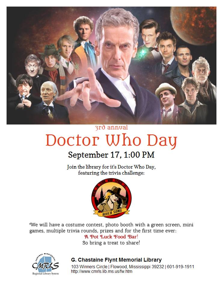 Flowood Library Doctor Who Day 2016