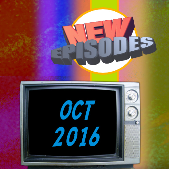 October 2016 Super Hero TV Shows