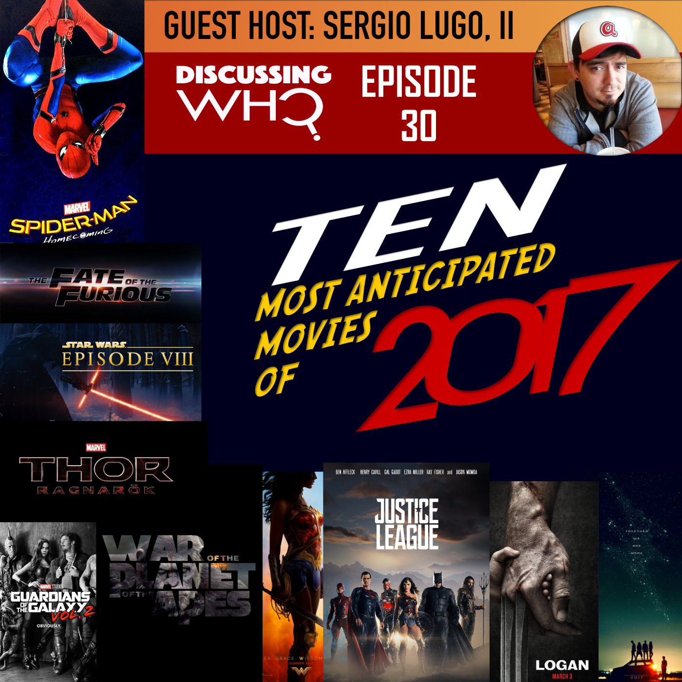 Ten Most Anticipated Movies of 2017