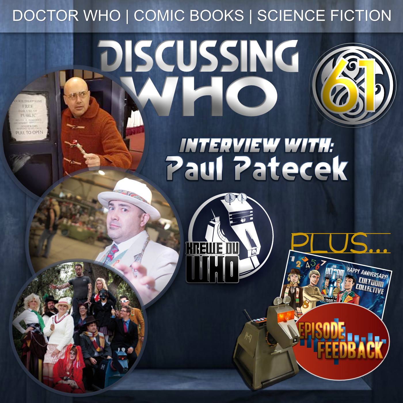 Paul Patecek interview on Discussing Who Episode 61