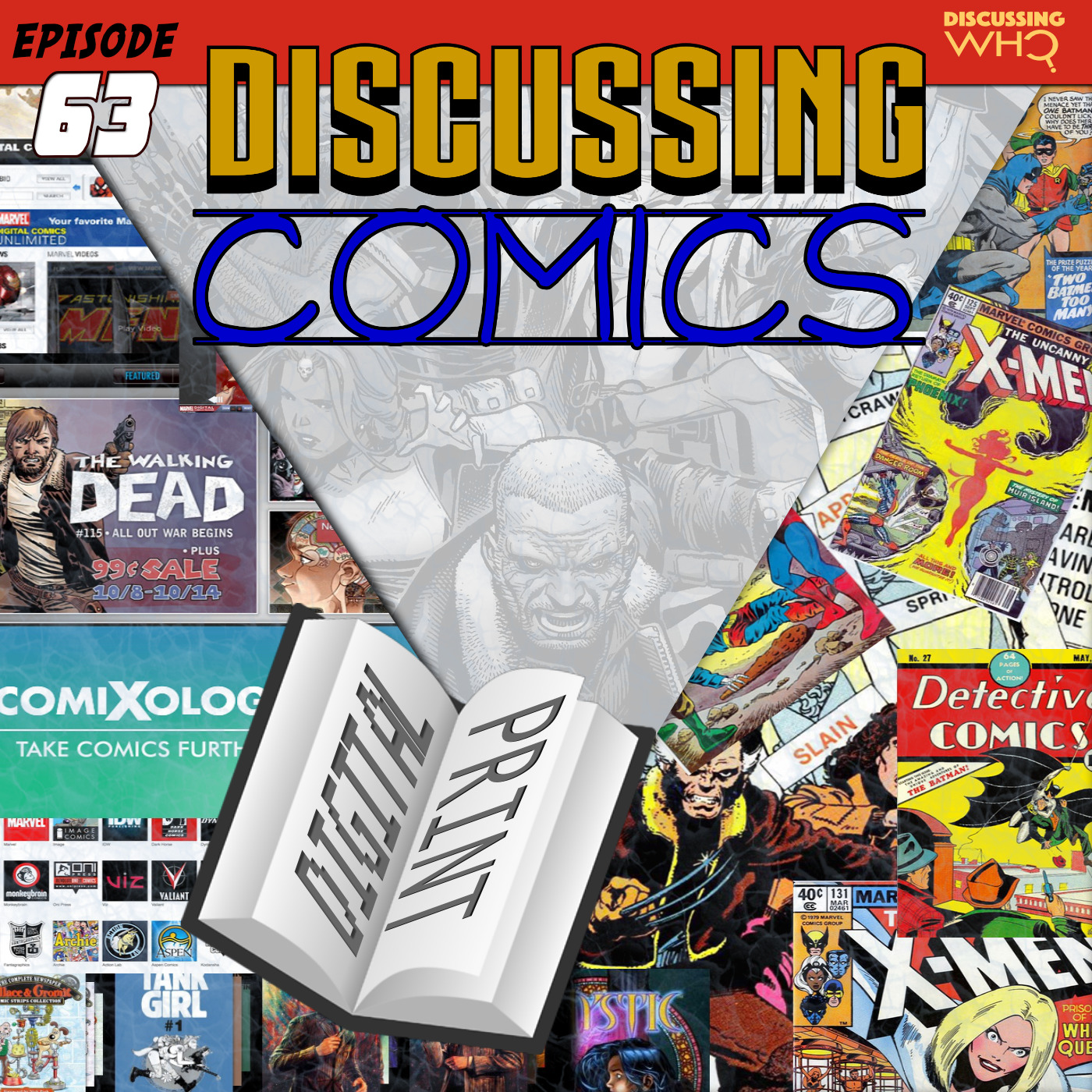 Discussing Comics on YouTube