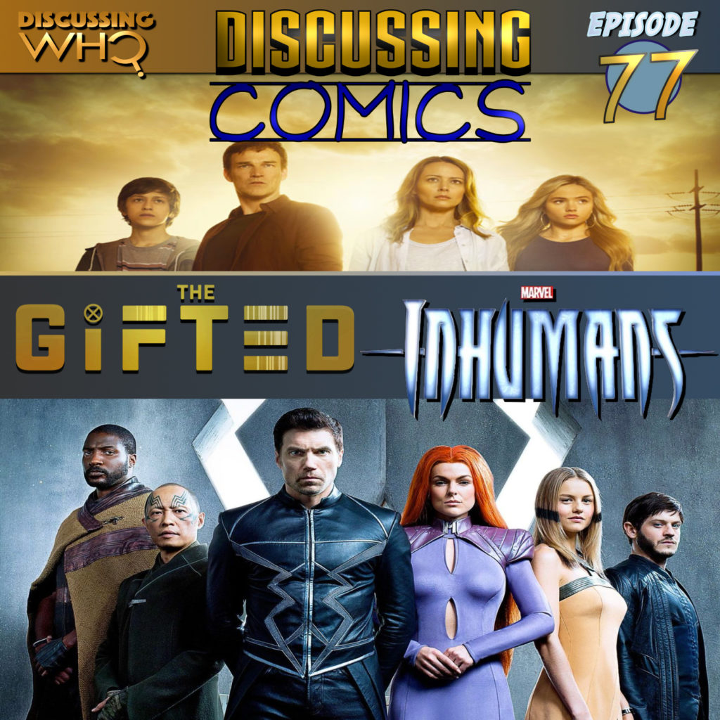 Discussing Who presents Discussing Comics Episode 77
