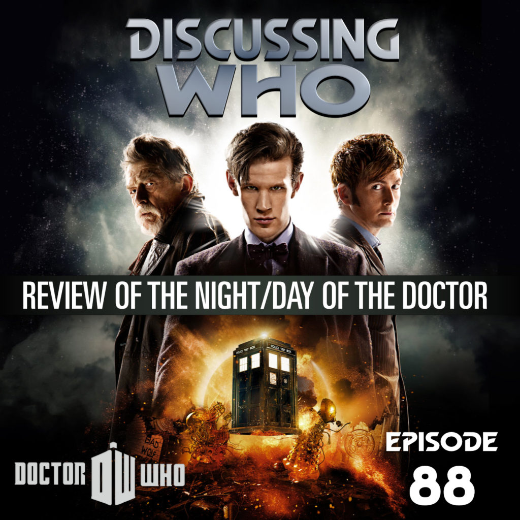 Review of the Day and Night of the Doctor