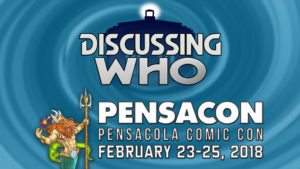 Discussing Who at Pensacon 2018
