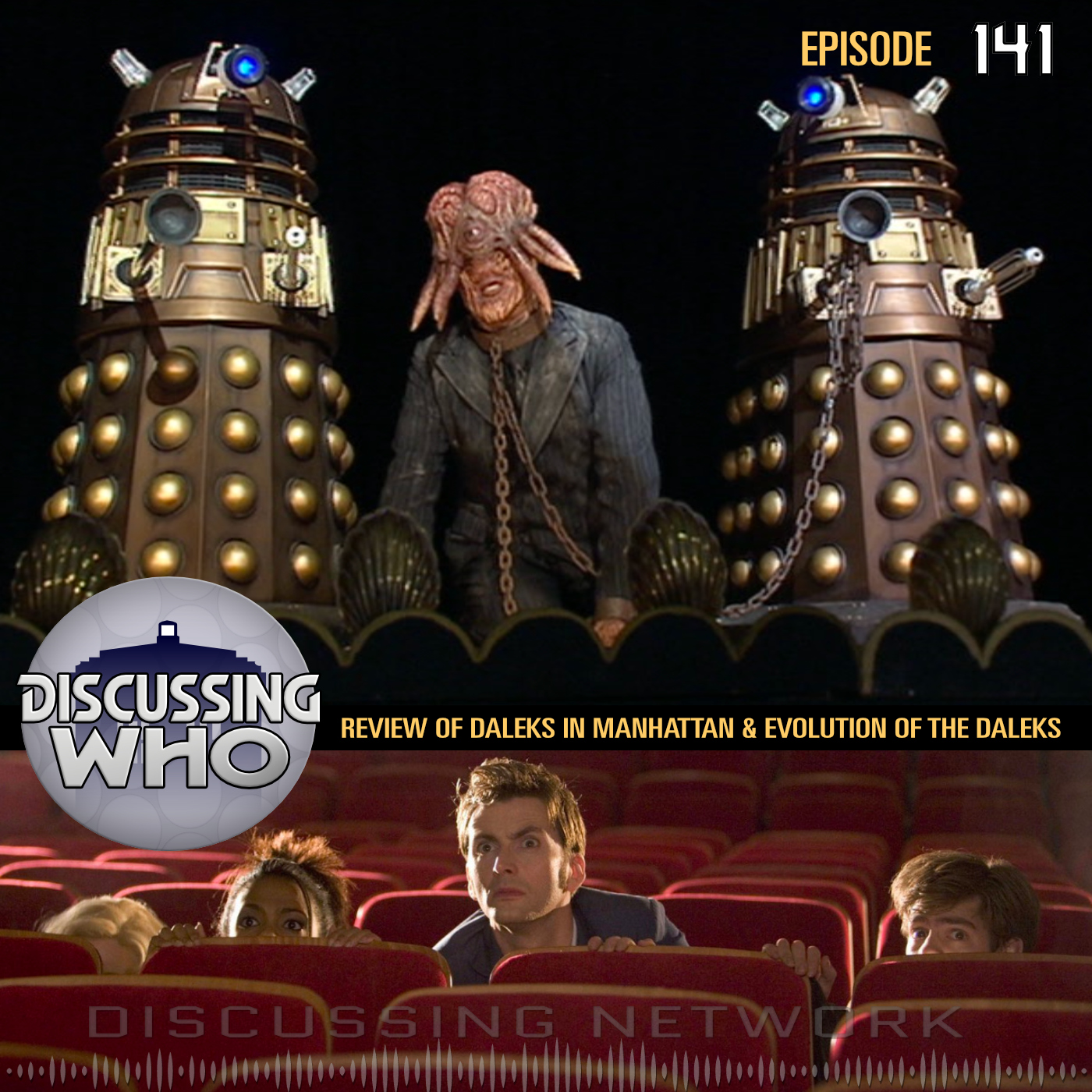 Review of Daleks in Manhattan and Evolution of the Daleks