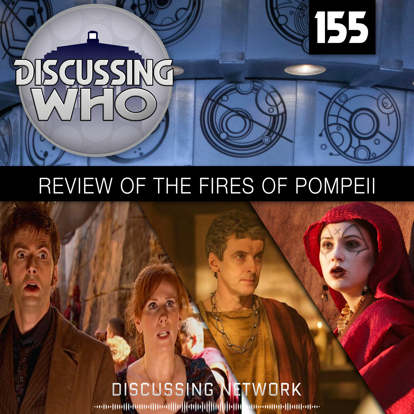 Discussing Who Episode 155   Discussing Who: A Doctor Who