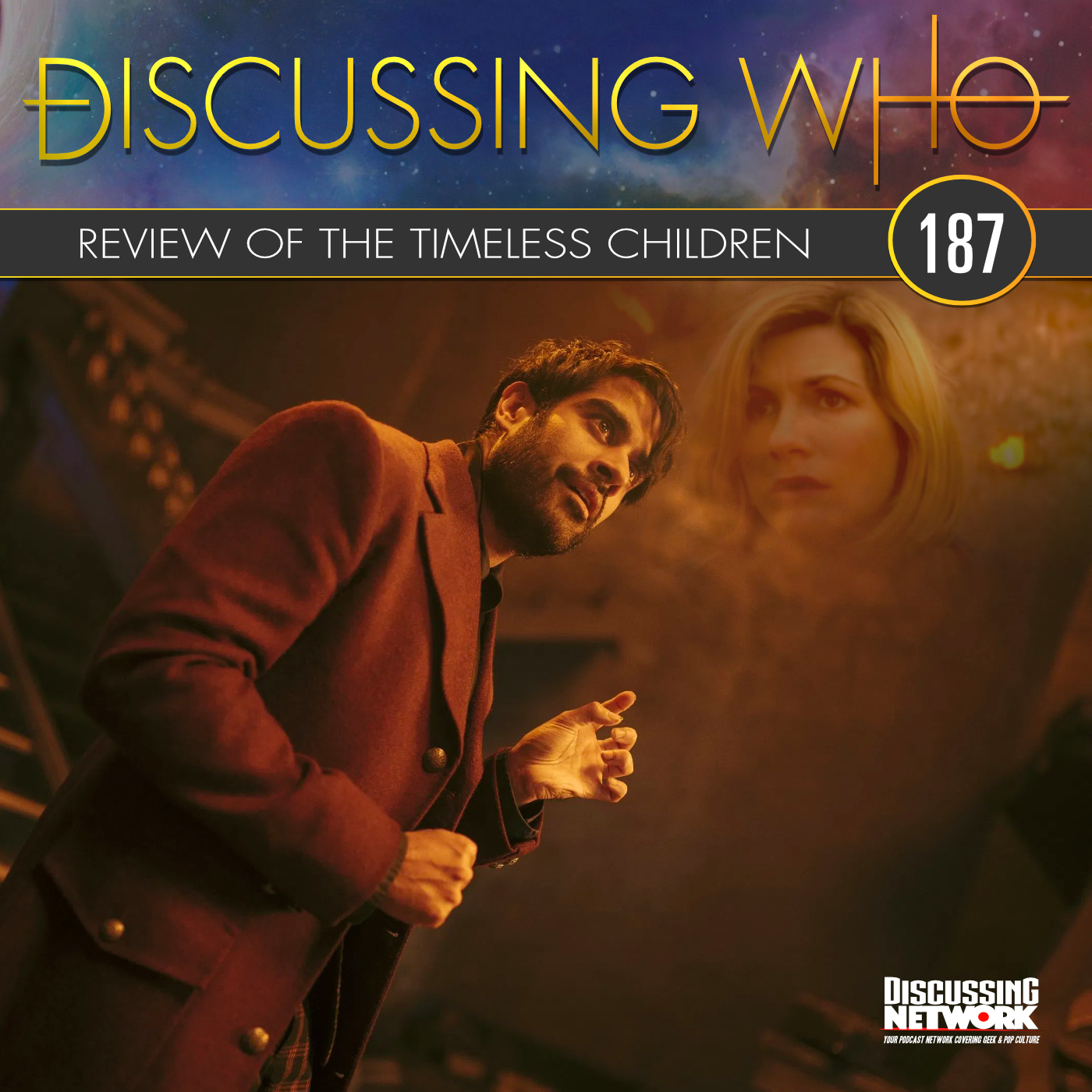 Discussing Who Podcast Review of Doctor Who The Timeless Children