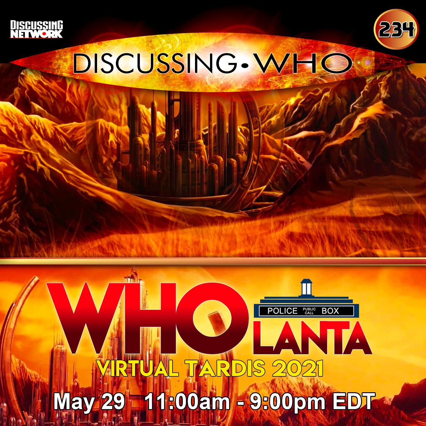WHOLanta Virtual TARDIS 2021